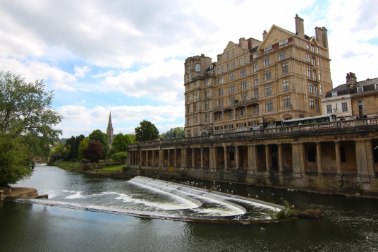 Pulteney Bridge Weir