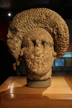 Head of a lady - tomb decoration