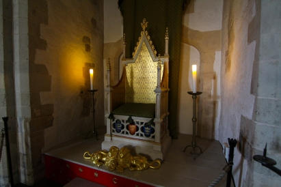 Replica of Henry III's Throne