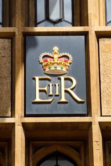 Royal Cipher of Queen Elizabeth II