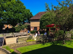 Shakespeare's birthplace - inner garden