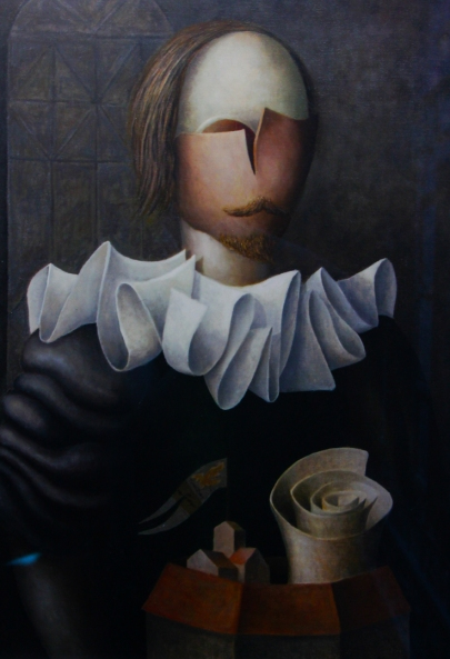 'William Shakespeare' by Juan C Liberti, 1982